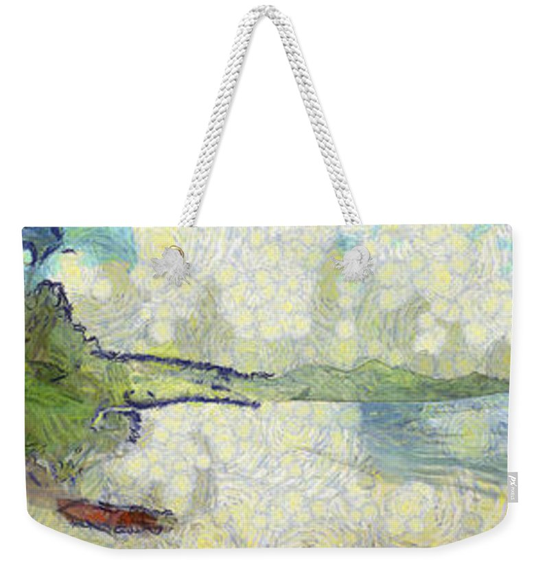 Panorama Weekender Tote Bag featuring the photograph Panorama Of Landscape by Ashish Agarwal