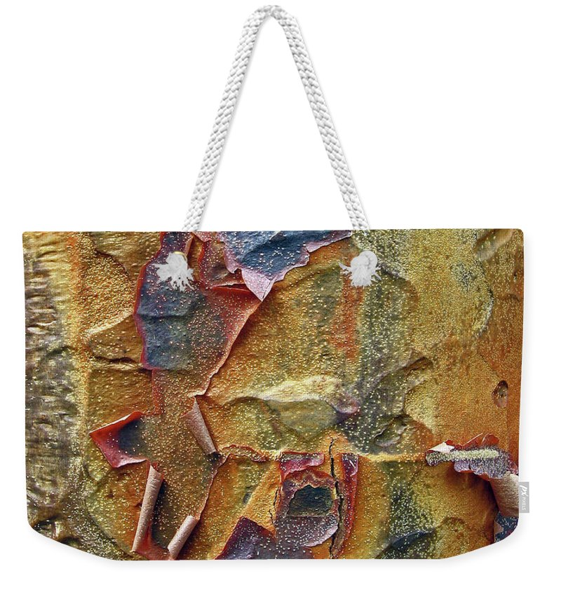 Tree Weekender Tote Bag featuring the photograph Paperbark Maple  by Jessica Jenney