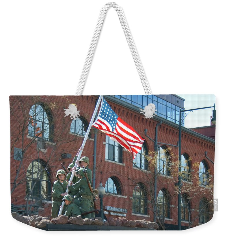 St. Patrick's Day Parade Weekender Tote Bag featuring the photograph Parade 7 by Angus Hooper Iii