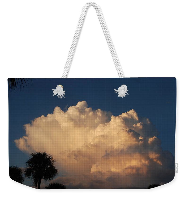 Clouds Weekender Tote Bag featuring the photograph Paradise by Rob Hans
