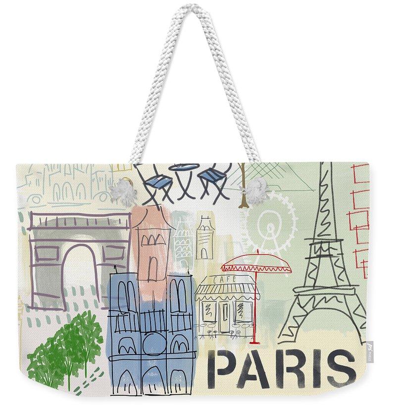 Notre Dame Weekender Tote Bags