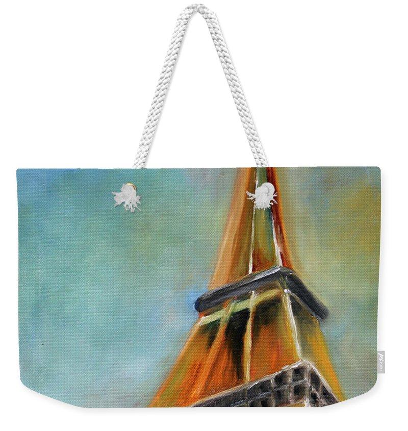Eiffel Tower Weekender Tote Bags