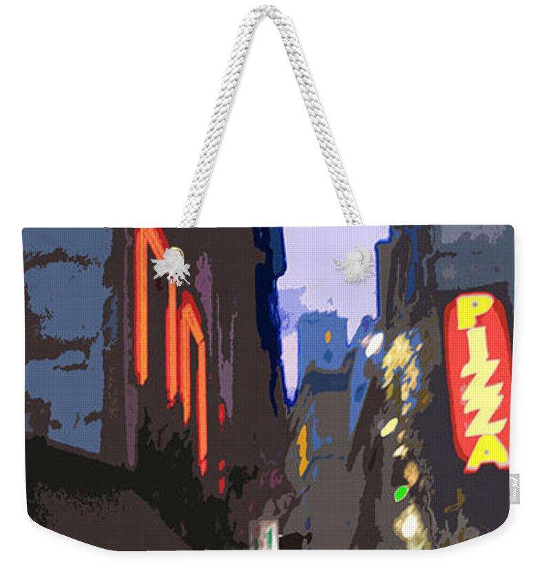 Paris Weekender Tote Bag featuring the photograph Paris Quartier Latin 01 by Yuriy Shevchuk