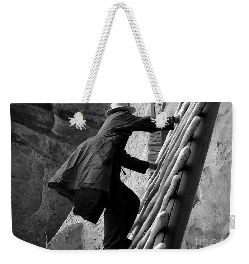 Park Ranger Weekender Tote Bag featuring the photograph Park Ranger by David Lee Thompson
