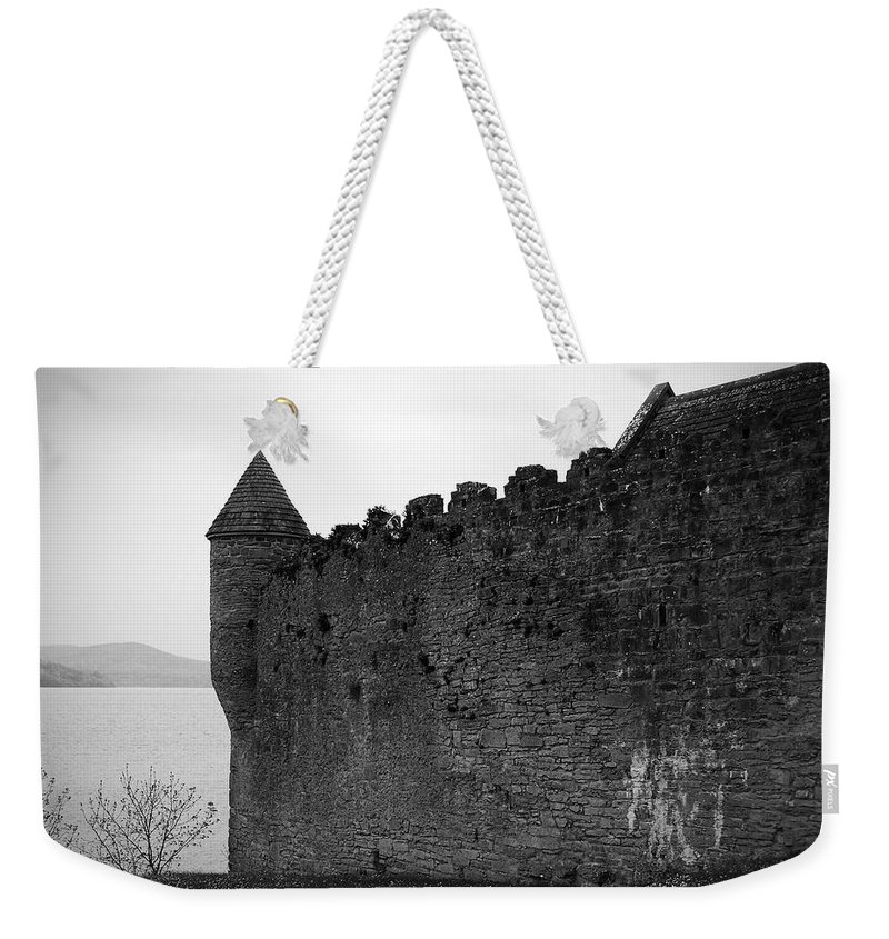 Ireland Weekender Tote Bag featuring the photograph Parkes Castle County Leitrim Ireland by Teresa Mucha