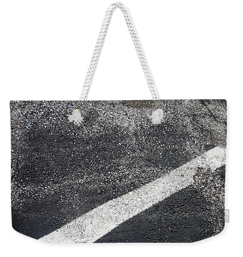 Parking Lot Weekender Tote Bag featuring the photograph Parking Lot 1 by Anita Burgermeister