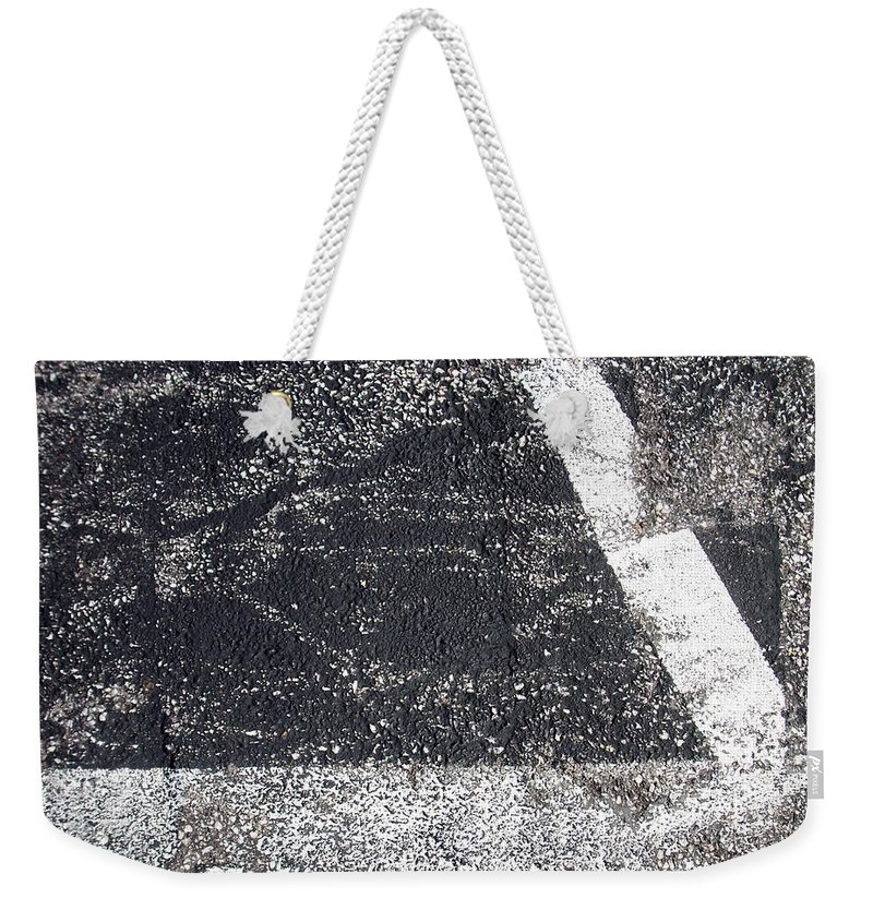 Parking Lot Weekender Tote Bag featuring the photograph Parking Lot 2 by Anita Burgermeister