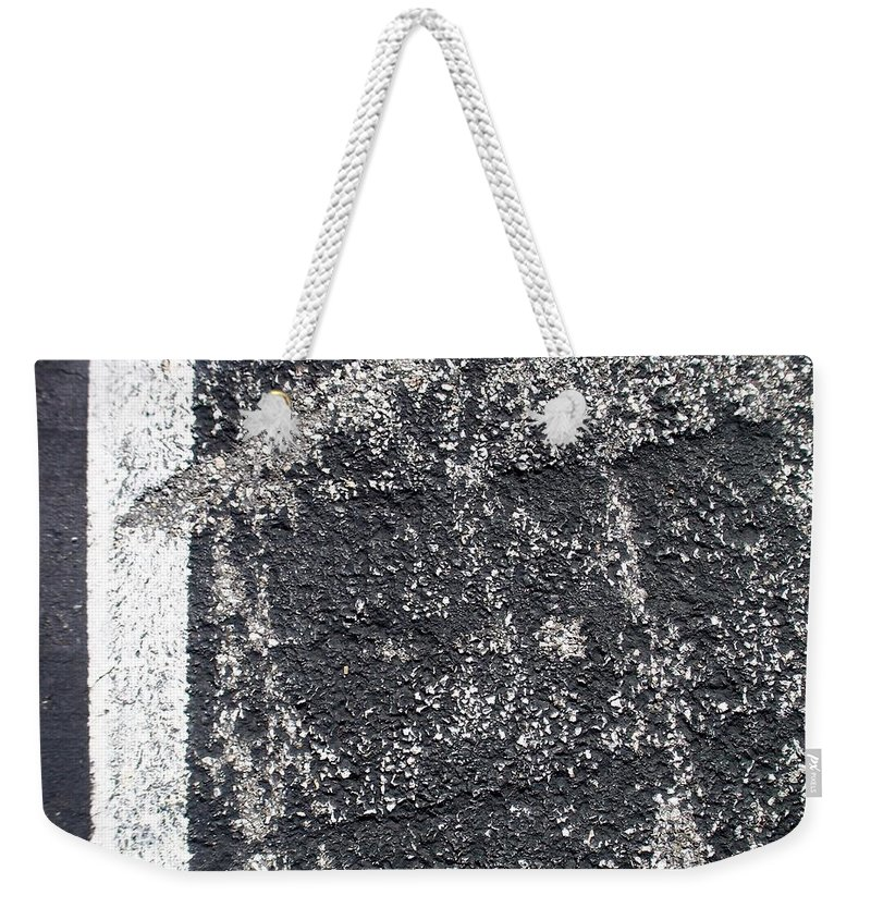 Parking Lot Weekender Tote Bag featuring the photograph Parking Lot 3 by Anita Burgermeister