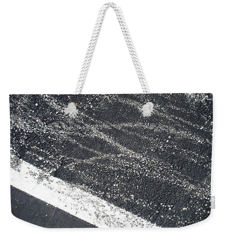 Parking Lot Weekender Tote Bag featuring the photograph Parking Lot 5 by Anita Burgermeister