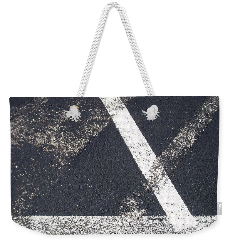 Parking Lot Weekender Tote Bag featuring the photograph Parking Lot 6 by Anita Burgermeister