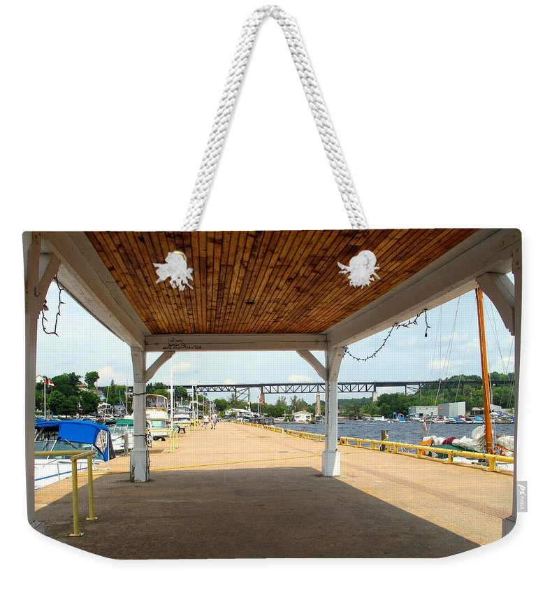 Parry Sound Weekender Tote Bag featuring the photograph Parry Sound by Ian MacDonald