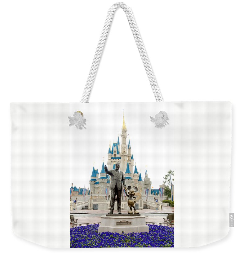 Disney Weekender Tote Bag featuring the photograph Partners by Greg Fortier