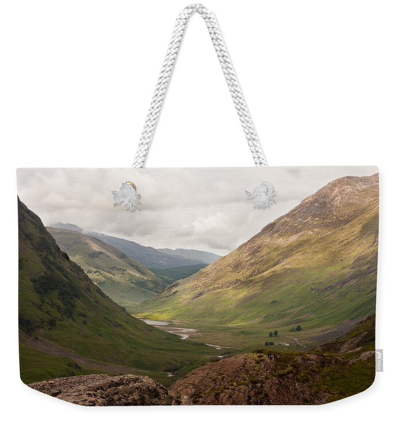 Scotland Weekender Tote Bag featuring the photograph Pass Of Glencoe II by Colette Panaioti