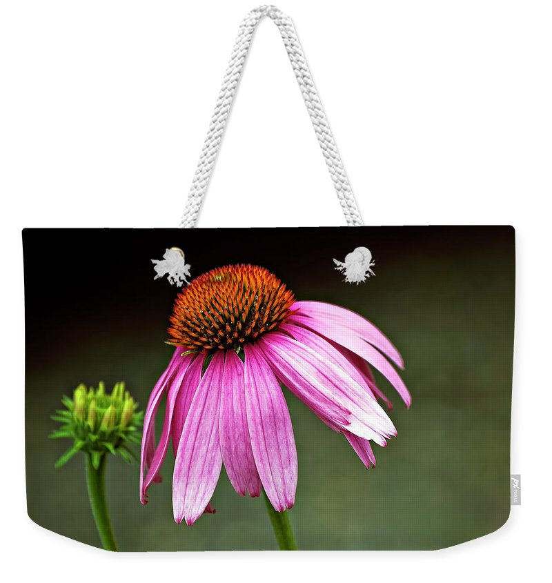 Flower Weekender Tote Bag featuring the photograph Passages by Steve Harrington
