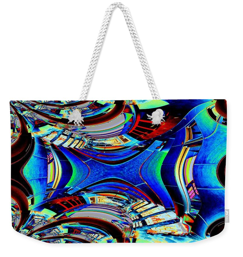 Passage Weekender Tote Bag featuring the photograph Passageway by Tim Allen