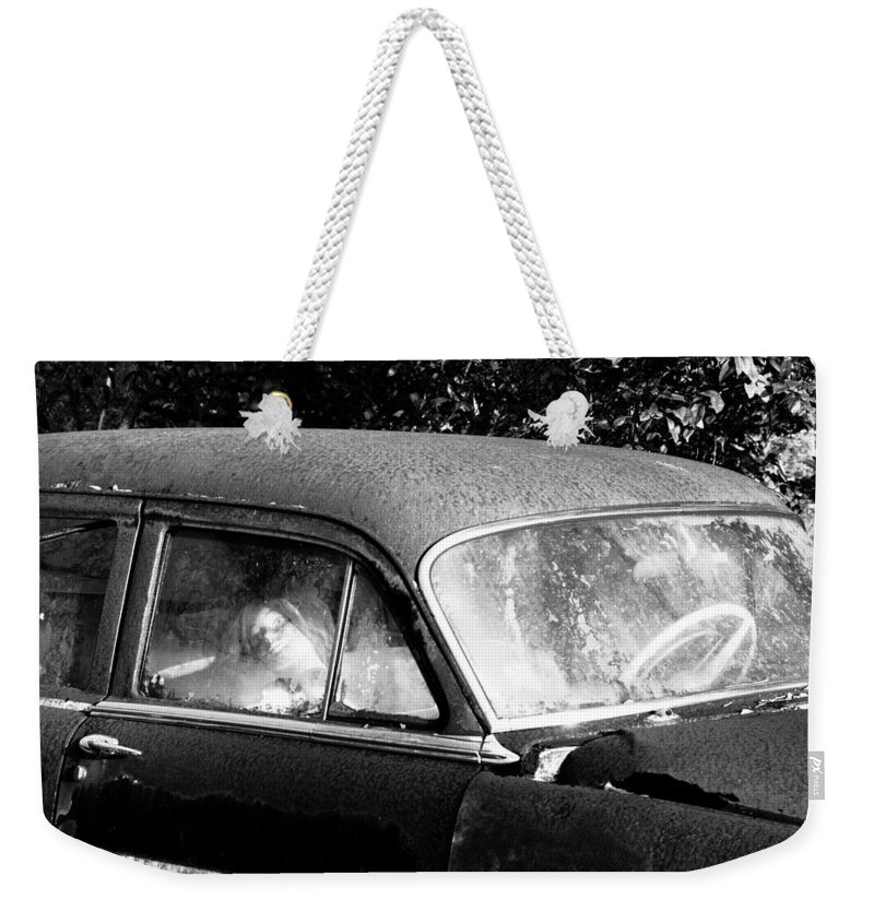 Passenger Weekender Tote Bag featuring the photograph Passenger by David Lee Thompson