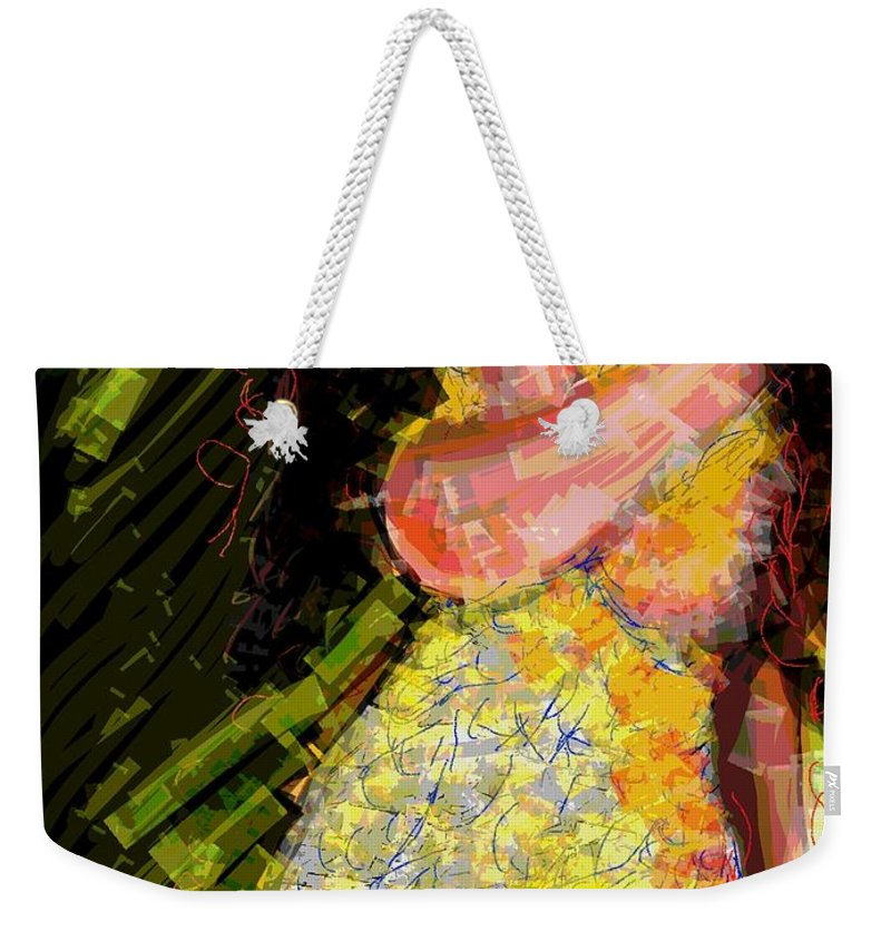 Love Weekender Tote Bag featuring the digital art Passion And Love by Subrata Bose