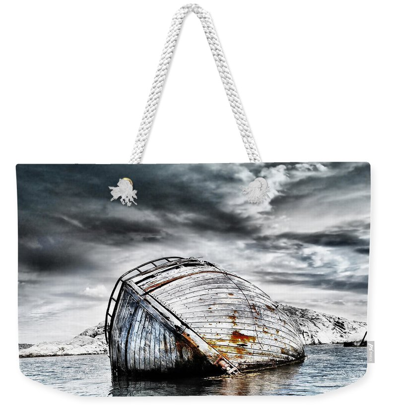 Photodream Weekender Tote Bag featuring the photograph Past Glory by Jacky Gerritsen