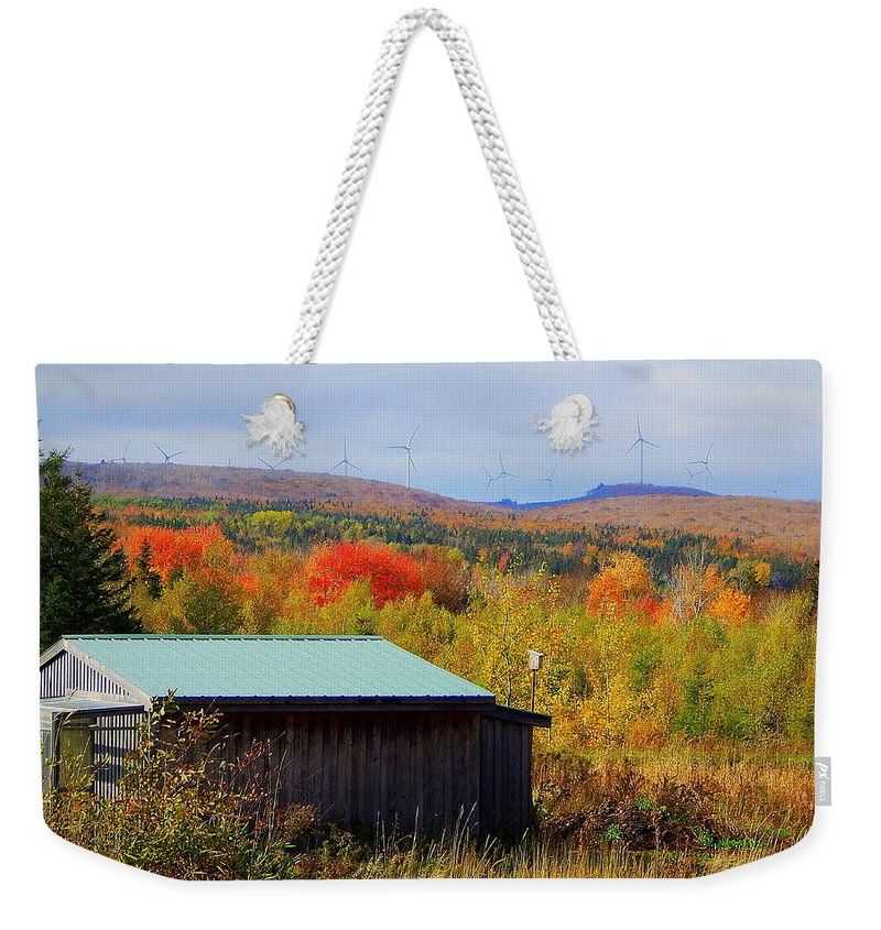 Past Weekender Tote Bag featuring the photograph Past, Present And The Future by Karen Cook