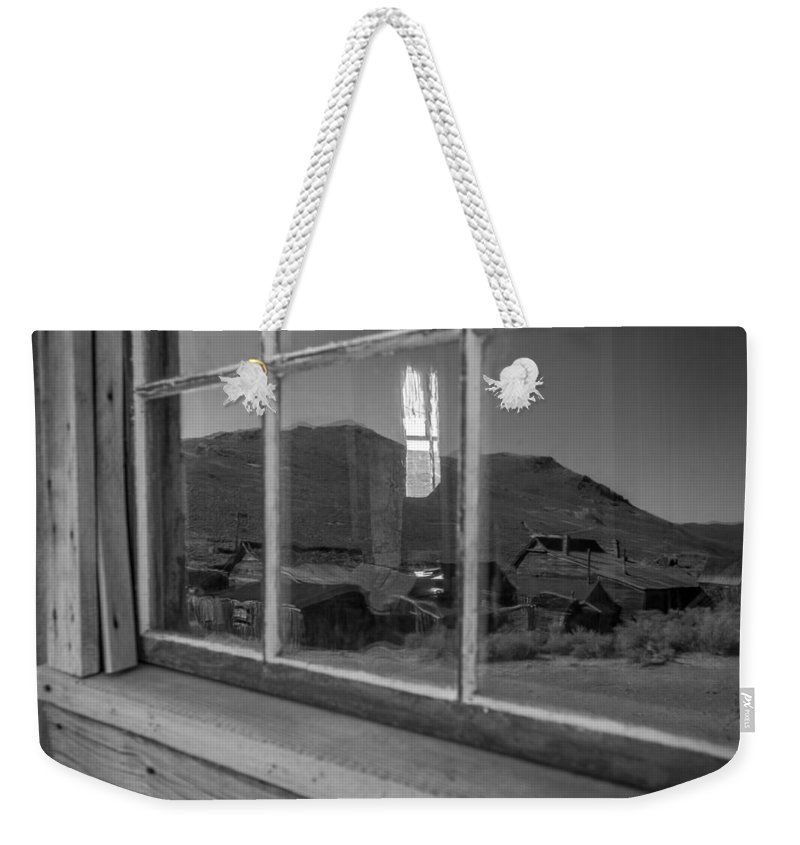 Michele James Photography Weekender Tote Bag featuring the photograph Past Reflections by Michele James