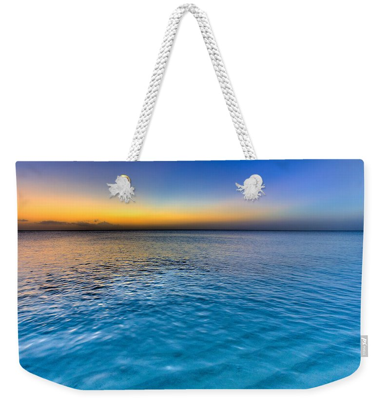 Pastel Ocean Weekender Tote Bag featuring the photograph Pastel Ocean by Chad Dutson