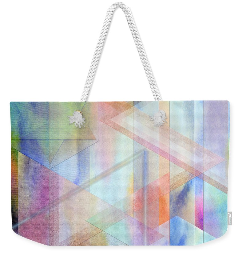 Pastoral Moment Weekender Tote Bag featuring the digital art Pastoral Moment by John Beck