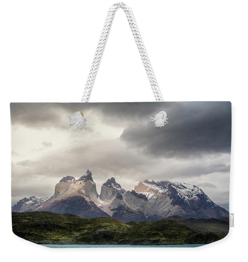 Torres Del Paine Weekender Tote Bags