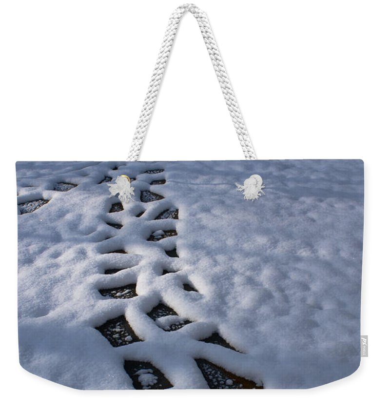 Path Weekender Tote Bag featuring the photograph Path by Douglas Barnett