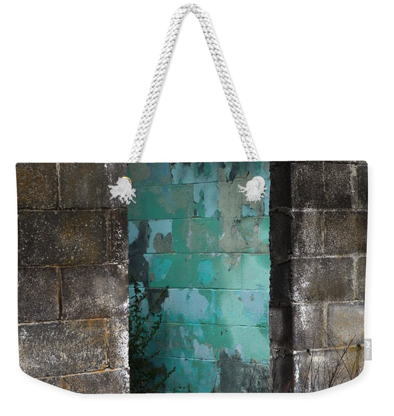 Old Weekender Tote Bag featuring the photograph Path To Enlightenment by Amanda Barcon