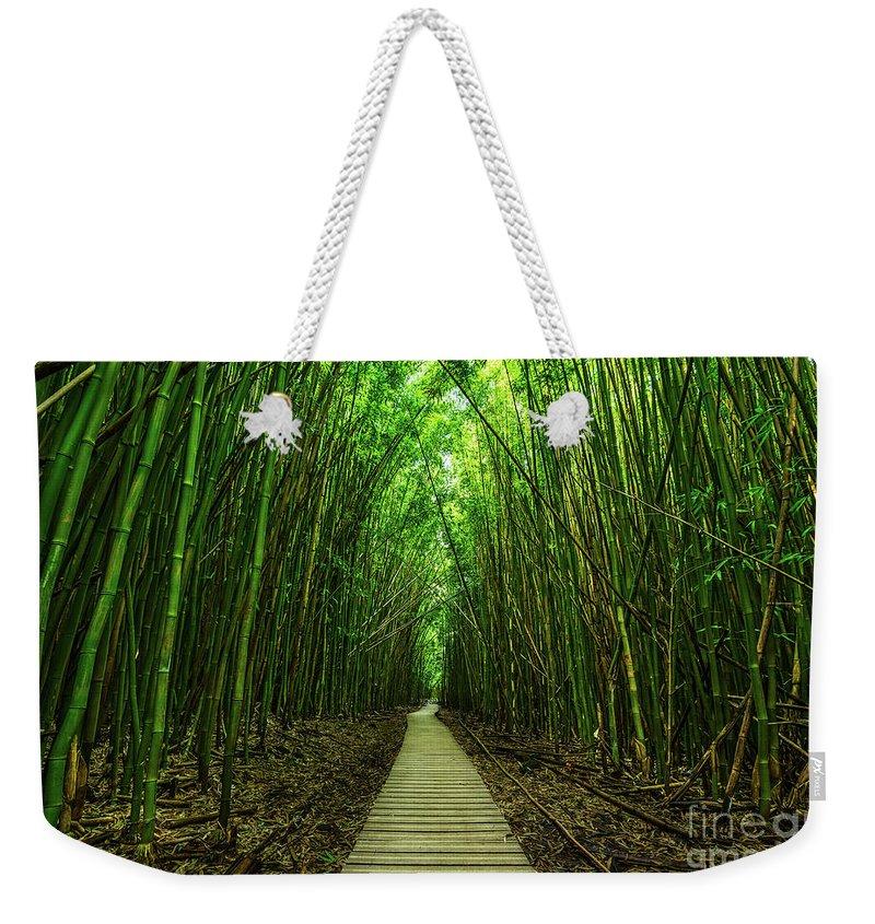 Bamboo Photographs Weekender Tote Bags