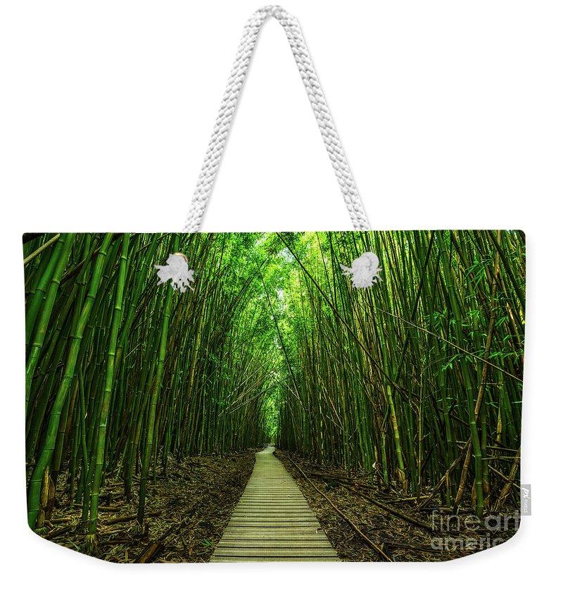 Bamboo Weekender Tote Bags