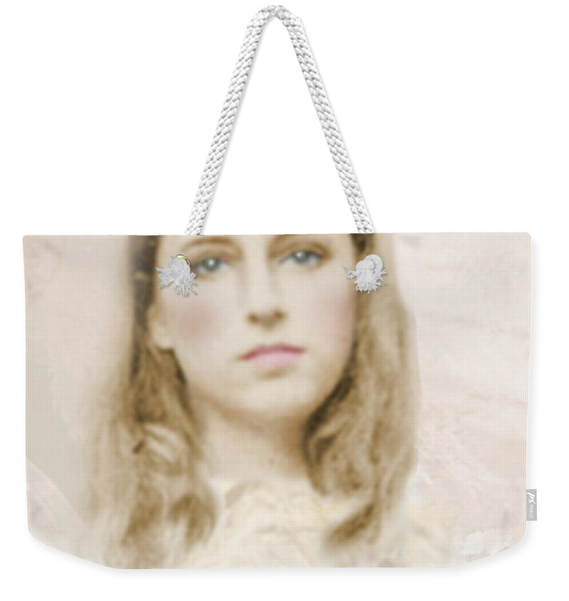Portraits Weekender Tote Bag featuring the photograph Pathos by Karen W Meyer