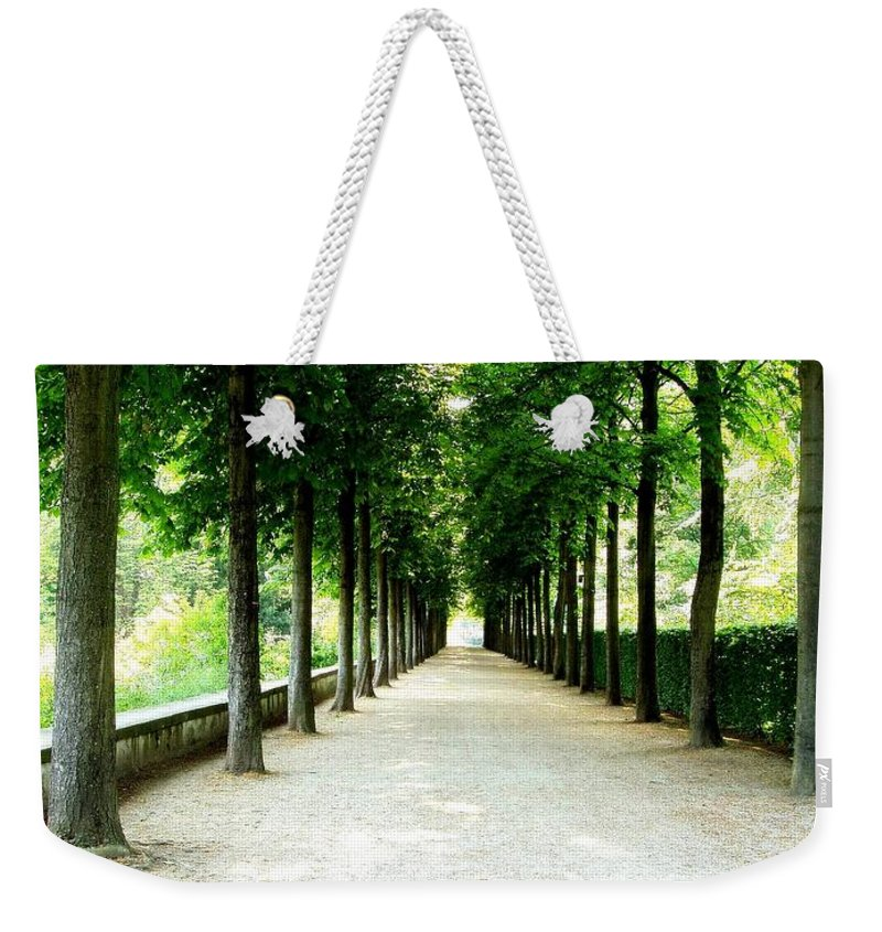Path Weekender Tote Bag featuring the photograph Pathway by Deborah Crew-Johnson
