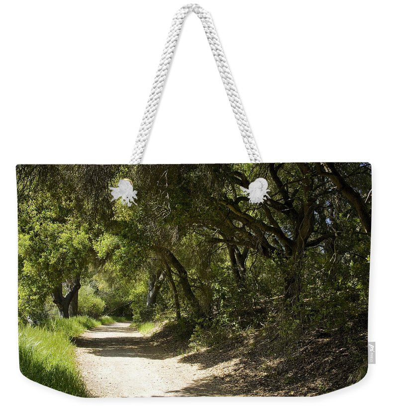 Path Weekender Tote Bag featuring the photograph Pathway To Somewhere by Kelley King