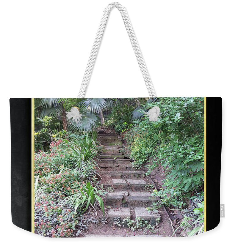 Pathways Weekender Tote Bag featuring the digital art Pathways by Quintus Curtius