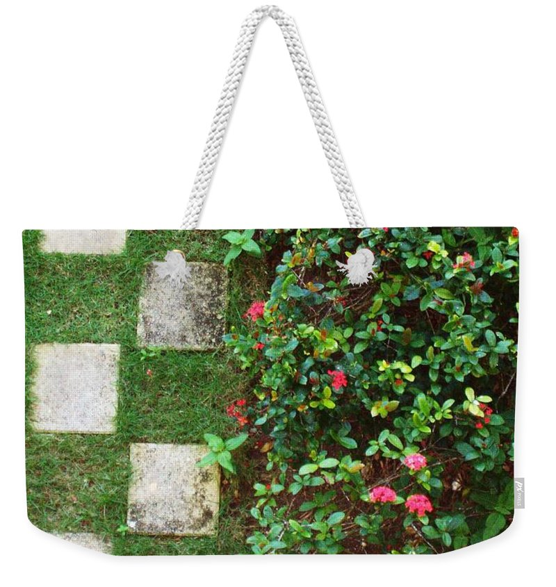 Pattern Weekender Tote Bag featuring the photograph Pattern Work by Deborah Crew-Johnson