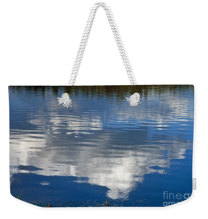 Landscape Weekender Tote Bag featuring the photograph Peace by Kathy McClure