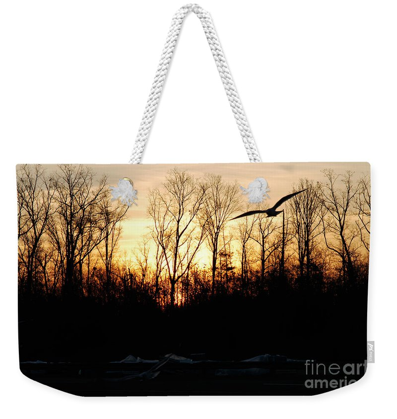 Clay Weekender Tote Bag featuring the photograph Peaceful by Clayton Bruster
