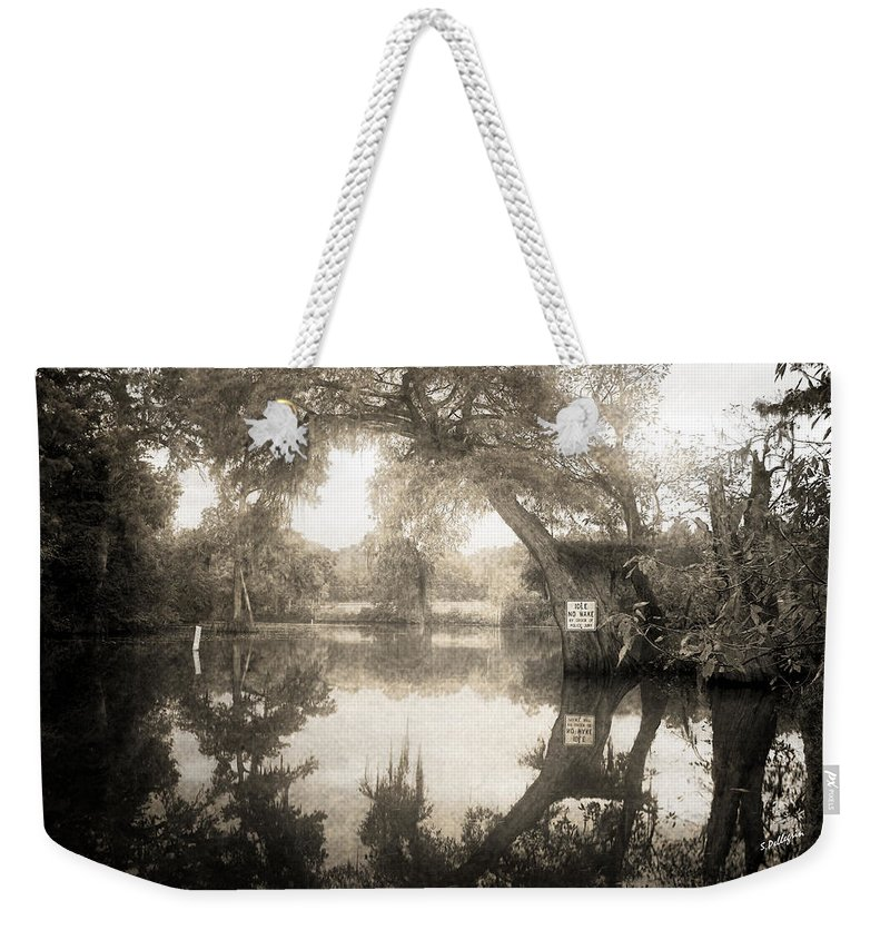 Water Weekender Tote Bag featuring the photograph Peaceful Evening by Scott Pellegrin