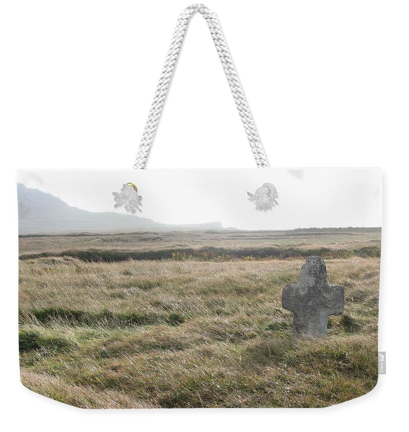 Midievil Weekender Tote Bag featuring the photograph Peaceful Rest by Kelly Mezzapelle