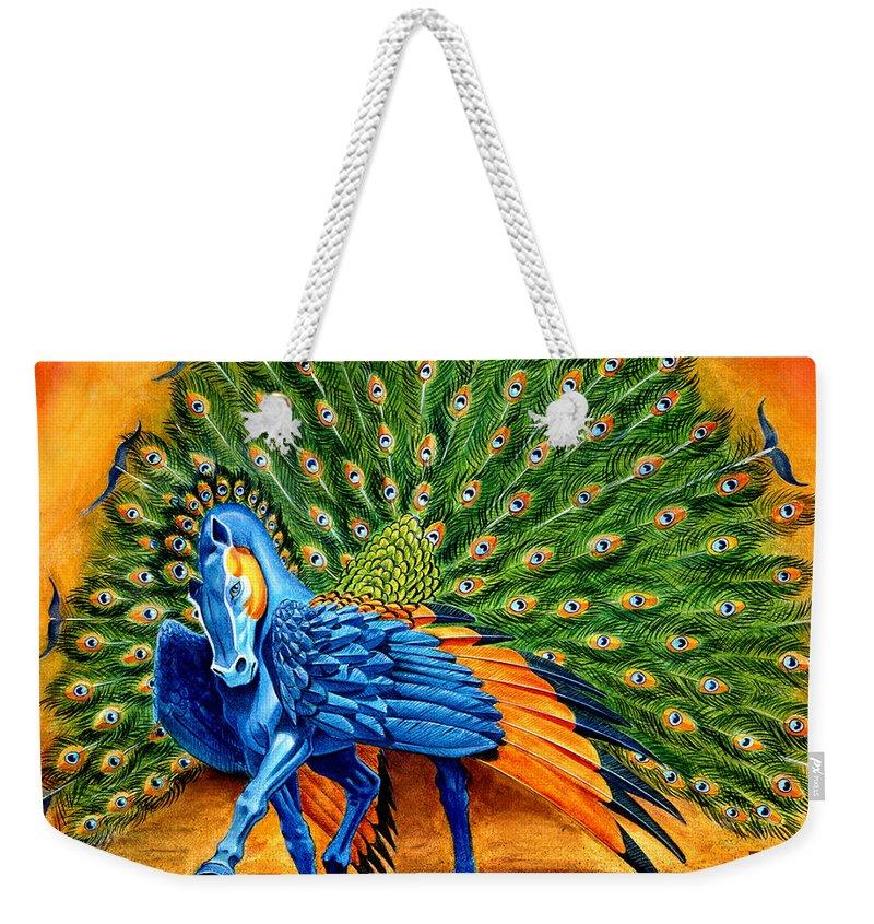 Pegasus Weekender Tote Bags
