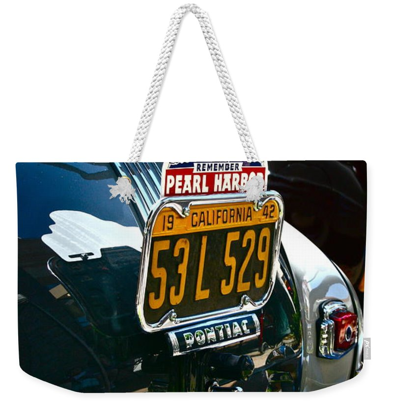 Photograph Weekender Tote Bag featuring the photograph Pearl Harbor by Gwyn Newcombe