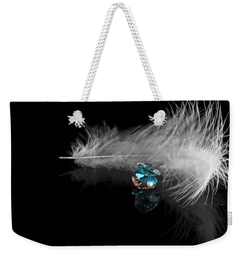3d Weekender Tote Bag featuring the photograph Pearl by Svetlana Sewell