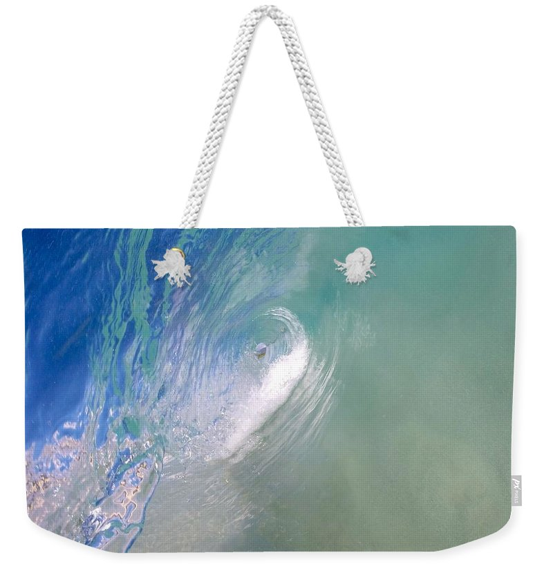 Wave Weekender Tote Bag featuring the photograph Peelers by Benen Weir