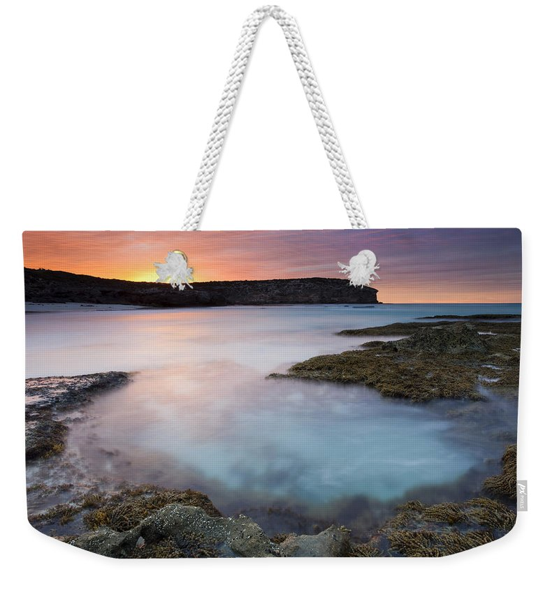 Dawn Weekender Tote Bag featuring the photograph Pennington Dawn by Mike Dawson