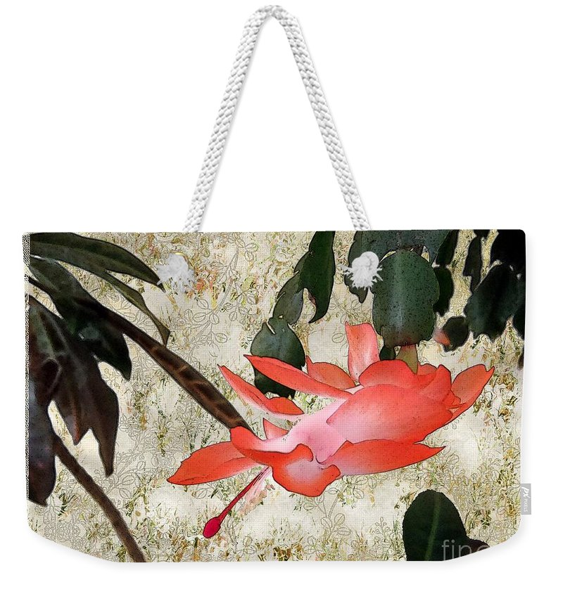 Victorian Weekender Tote Bag featuring the painting Penny Postcard Japonaise by RC DeWinter