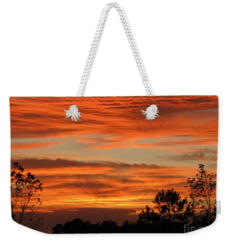Art For The Wall...patzer Photography Weekender Tote Bag featuring the photograph Perfection by Greg Patzer