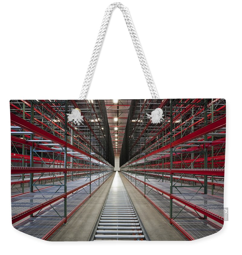 Lines Weekender Tote Bag featuring the photograph Perspective 2 by Kelley King