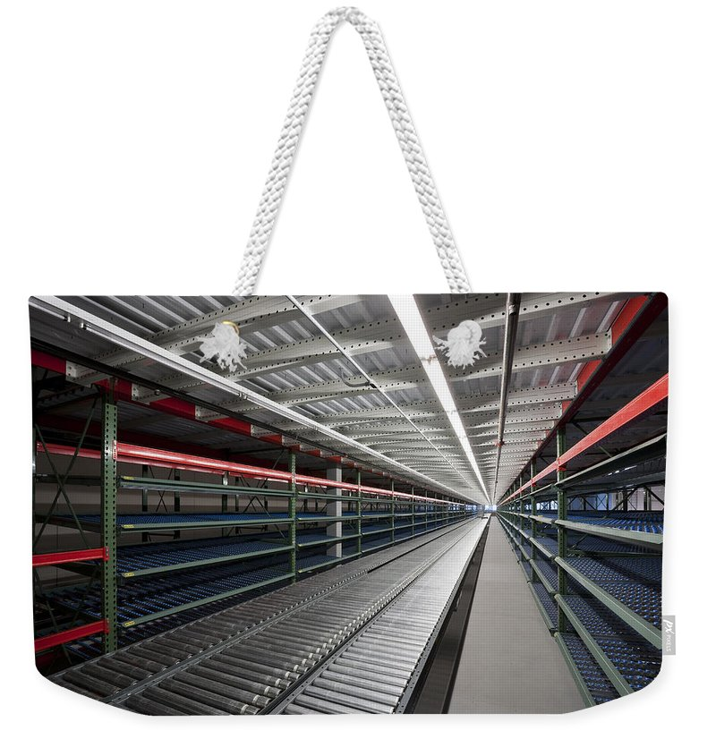 Lines Weekender Tote Bag featuring the photograph Perspective by Kelley King