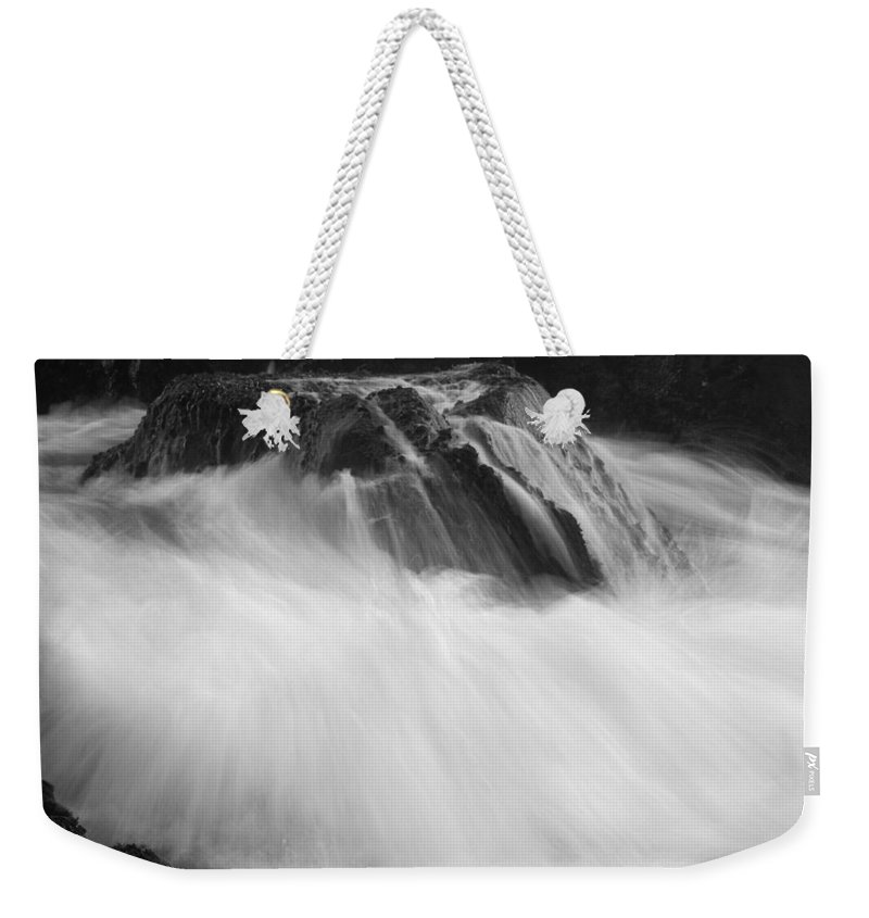 Silhouette Weekender Tote Bag featuring the photograph Pfeiffer Beach Sp 8243 by Bob Neiman